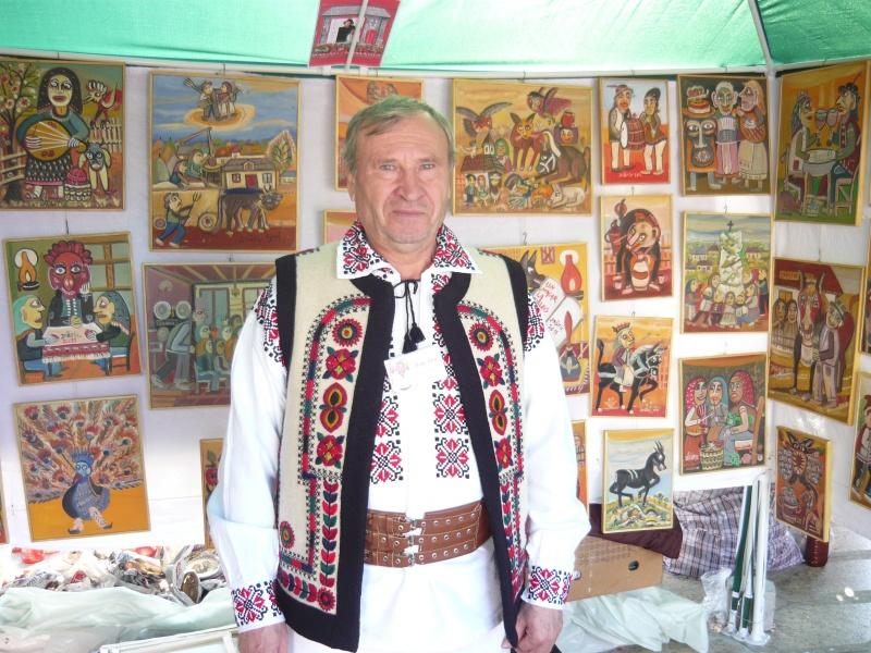 """Nea Ioan Măric e pictor naiv din Bacău, cunoscut mai ales prin lucrările din filmul documentar din anii 70 - """"În pădurea cea stufoasă"""""""