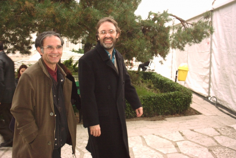 George Popescu şi Marco Lucchesi