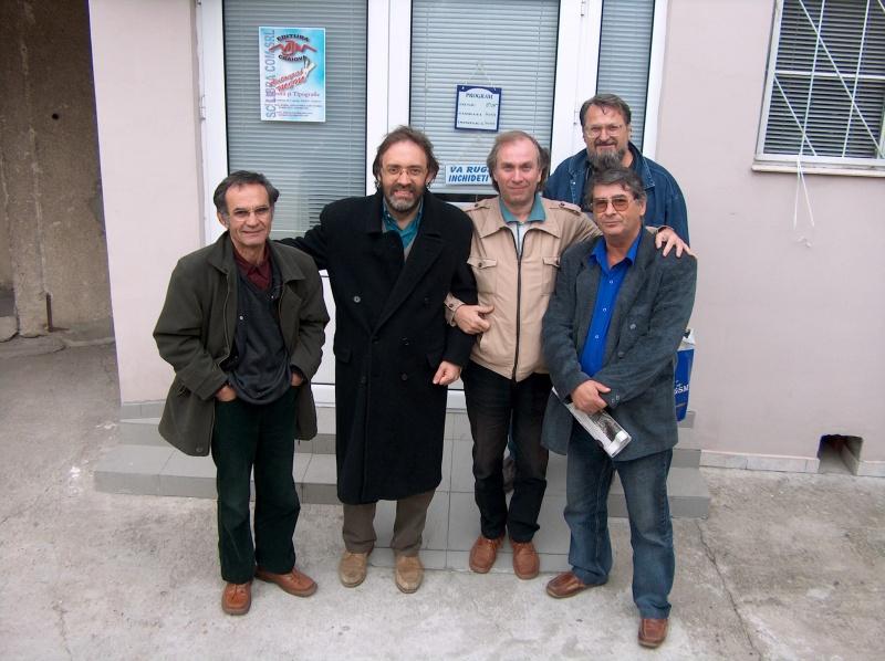George Popescu, Marco Lucchesi, Viorel, Victor Martin, Jean Băileşteanu