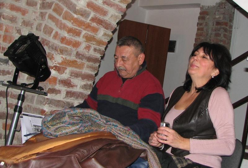 Soţii Marius Ghica şi Doina Ghiţă