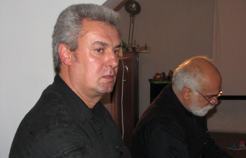 Nicolae Coande prezentându-şi consăteanul cu multiple referiri la propria persoană