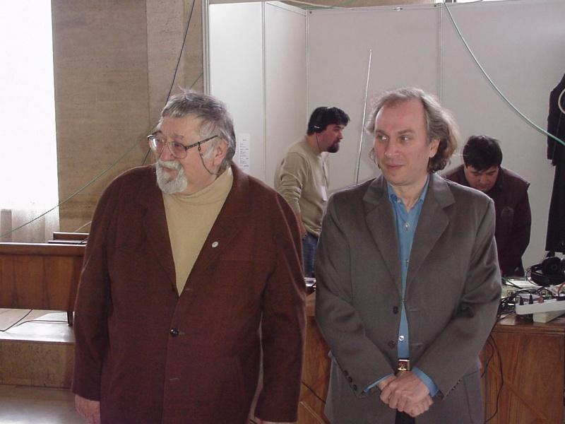 Gabriel Bratu şi Viorel; butada mea preferată: Un gras şi-un Pîrligras