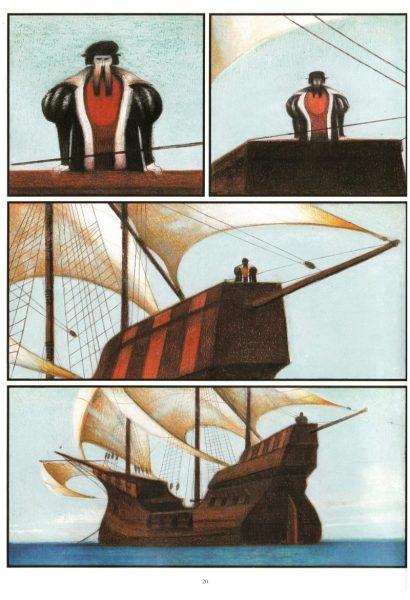 """""""Caboto"""" de Lorenzo Mattotti şi Zentner, Casterman, 2003"""