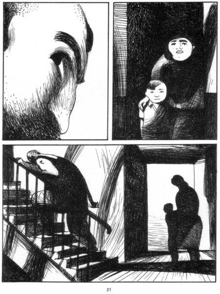 """""""Stigmata"""", de Lorenzo Mattotti şi Claudio Piersanti, Editura Art/ """"Jumătatea plină"""", 2011"""