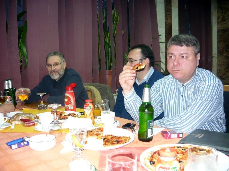 Partea a doua a manifestării - Mihai Diaconu, Dan Ninoiu, Adi Roşianu