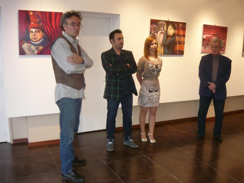 Florin şi Ozana Preda, încadraţi de Lucian Irimiescu (ex-profesorul lui Florin) şi Florin Rogneanu