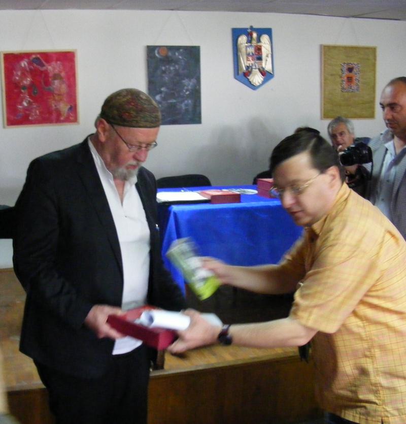 Bengt Berg primind premiul de la Horia Gârbea