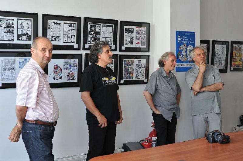Alexandru Stuparu, Marian Mirescu, Viorel Pîrligras, Cristian Ciomu