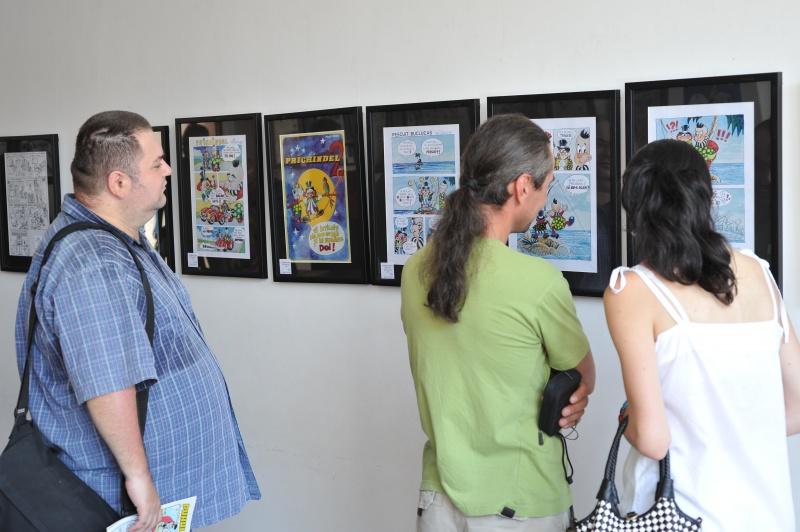 Admirând segmentul expoziţional Cristian Ciomu