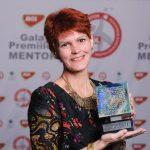 Profesoara Ofelia Burtea de la Carol I din Craiova – Premiul Mentor pentru Excelență în Educație