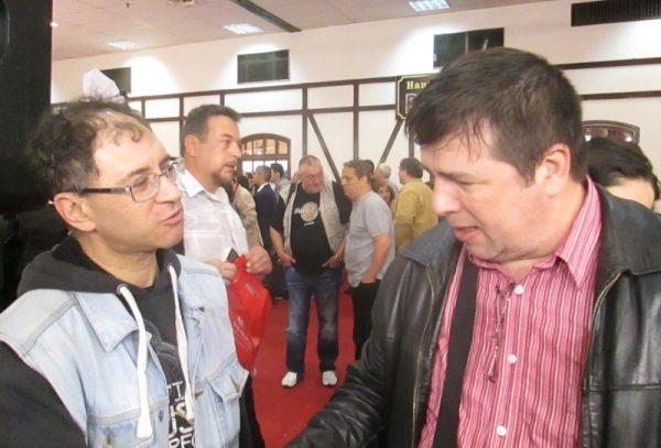 SF-ul între doi prieteni - Sorin Bobouţanu şi Eugen Lenghel. Între: Horia Ursu, Valentin Nicolau, Cornel Secu etc.