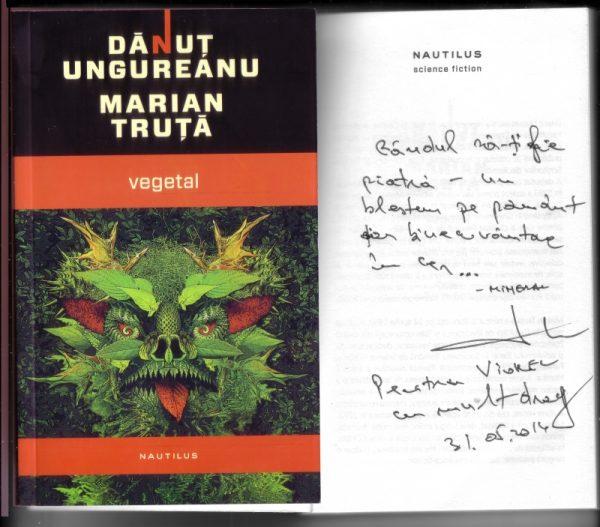 Autograf Marian Truţă