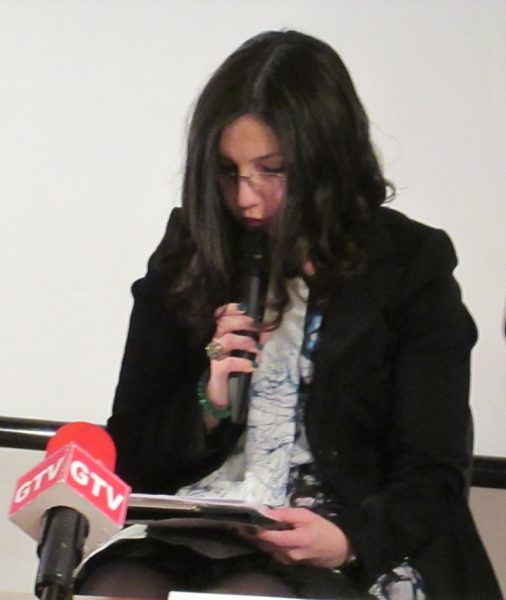 """""""mă imaginez Giuditta lui Klimt/ ţinând la piept cele două scrisori/ către mine însămi"""" (A.Ş.C. - 24 martie)"""