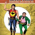 Afişul ediţiei din acest an. Zagor şi amicul său mexican Chico (pe numele său întreg Don Chico Felipe Cayetano Lopez Martinez y Gonzales).