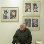 Gabriel Bratu, între caricaturile lui Valentin Chibrit