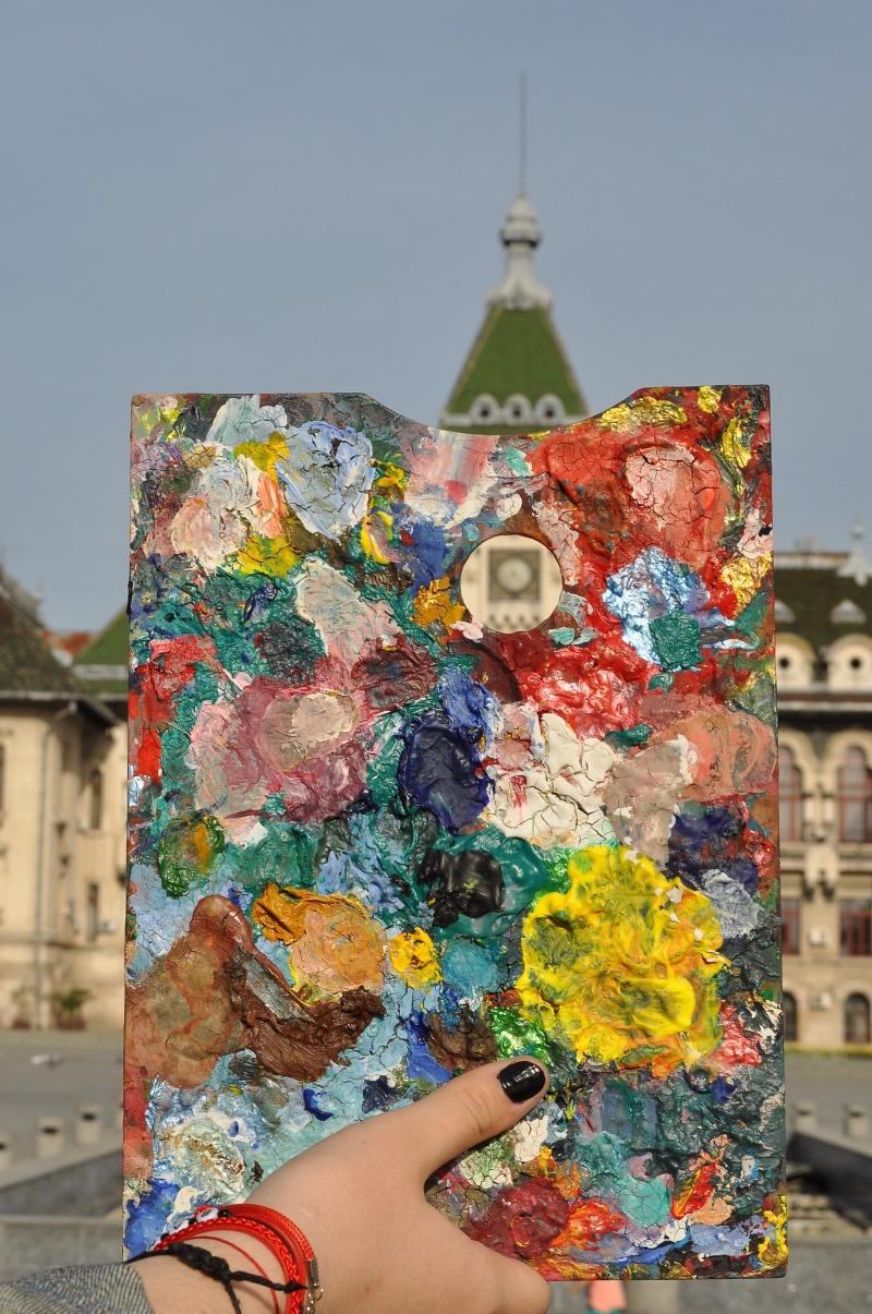 """Maria Alexandra Ţecu - """"Craiova în culori"""" (Premiul special """"Florin Rogneanu"""") O idee care nu putea veni decât dinspre Liceul de Artă!"""