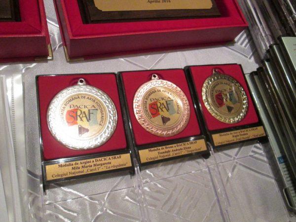 Medaliile de Aur, Argint, Bronz