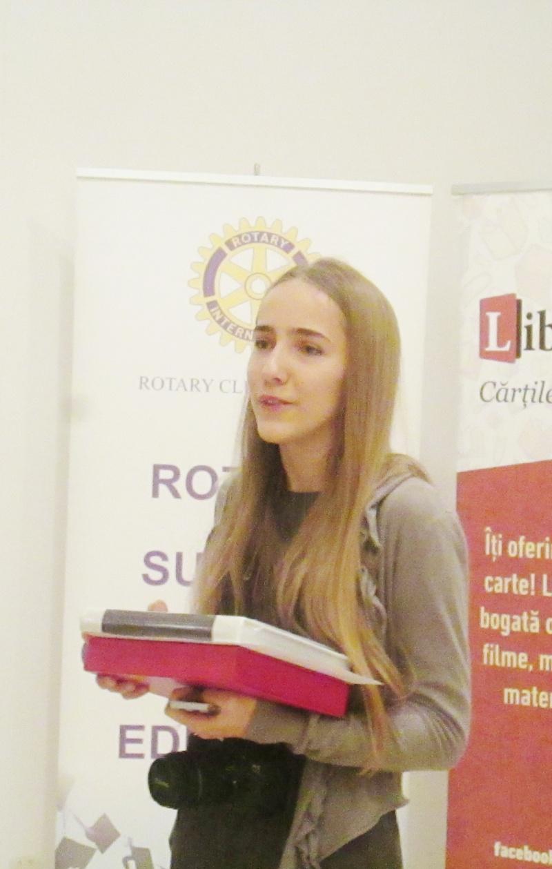 "Marele premiu ""Nicu Dan Gelep"": Patricia Ruxandra Pîrvuleţu, Colegiul Naţional ""Carol I"""