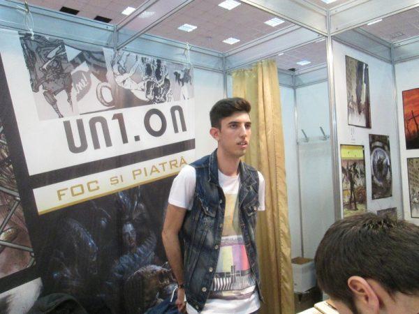 """Un autor BD craiovean, Sebastian Oacheş, prezent în antologia BD """"UN1.ON"""""""
