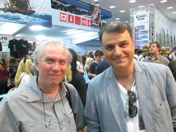 O întâlnire insolită cu Lucian Mîndruţă, veteran cititor de SF&BD