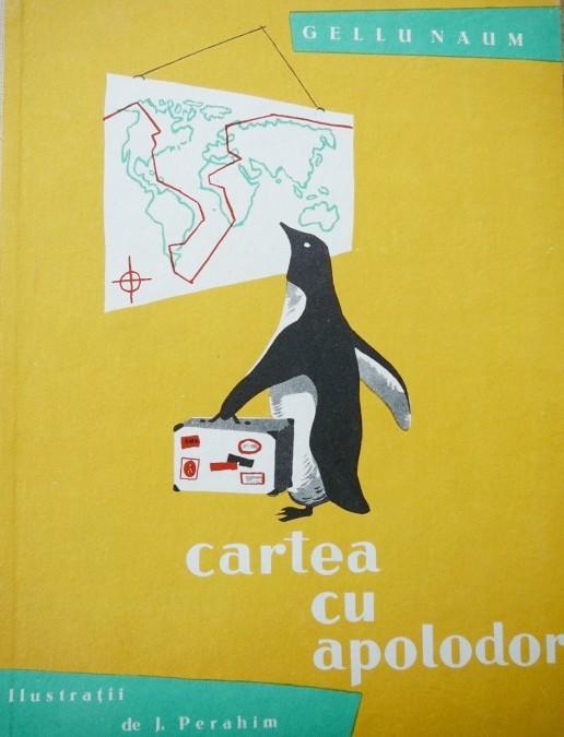 Coperta ediţei 1959 a Cărţii cu Apolodor, ilustrată de Jules Perahim
