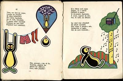 Ediţia din 1975, de la Editura Ion Creangă, Bucureşti, cu desene de Dan Stanciu