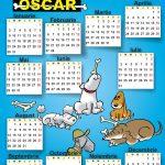 calendar oscar 2017