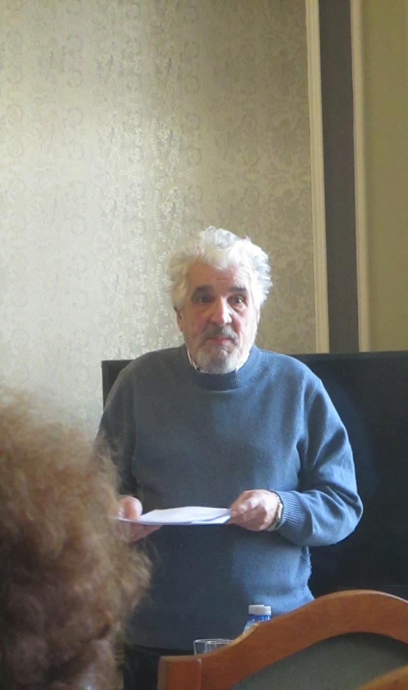 Prof. univ. dr. Doru Scărlătescu de la Universitatea din Iași