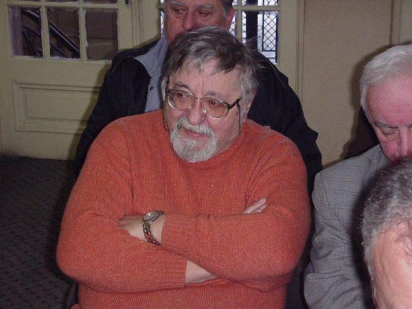 Prezent  la o lansare carte - 2002