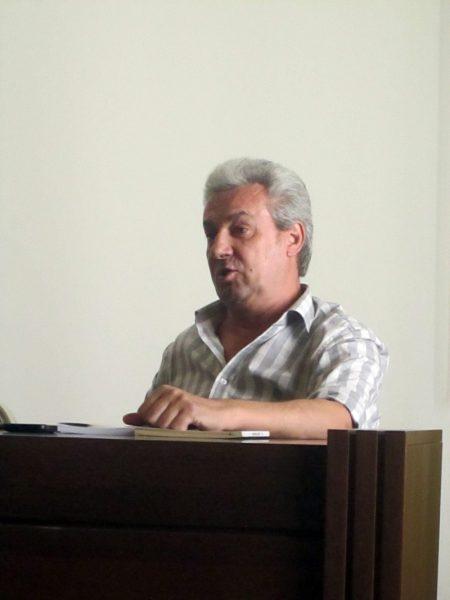 Greul manifestării, dus de Nicolae Coande în vorbă...