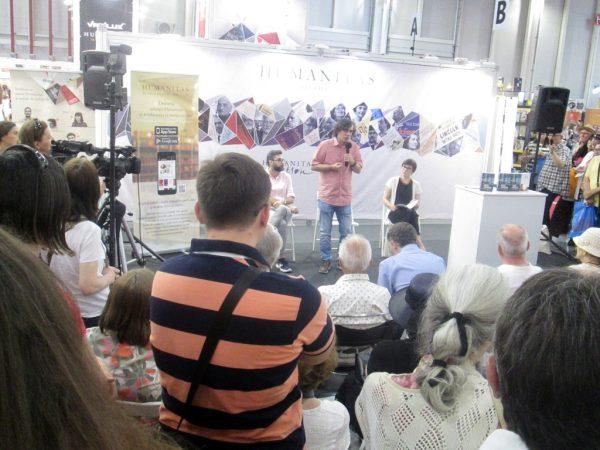 Lansare de carte şi sesiune de autografe  Mircea Cărtărescu, Un om care scrie. Jurnal, 2011–2017  Invitaţi: Mircea Cărtărescu, Marius Chivu, Lidia Bodea