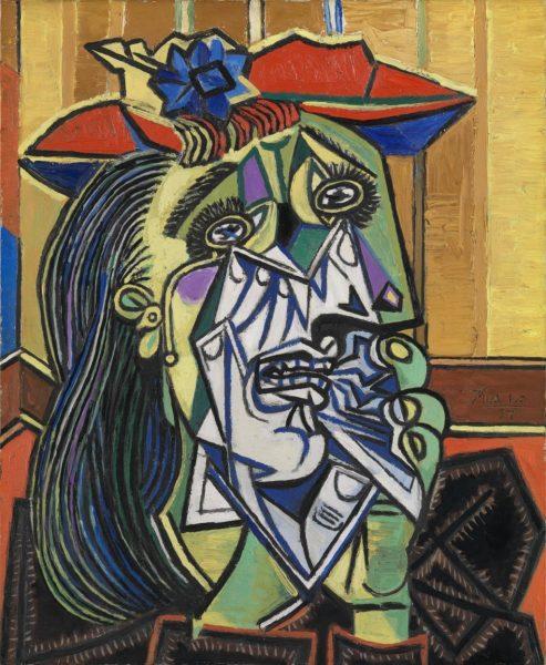 "Picasso - ""Femeia care plânge"""