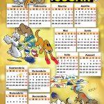 calendar oscar 2019