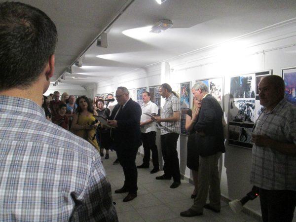 Deschiderea oficială a salonului - cuvântul de întâmpinare al primarului oraşului Leskovac