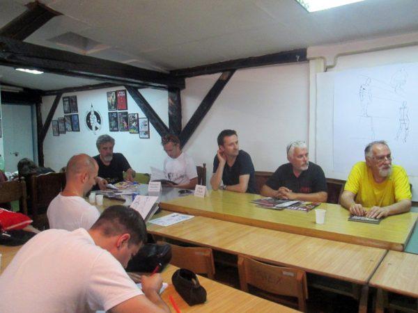 Banda Desenată transdanubiană: Marian Mirescu, Mirel Dragan, Rumen Čeaušev, Petar Stanimirov