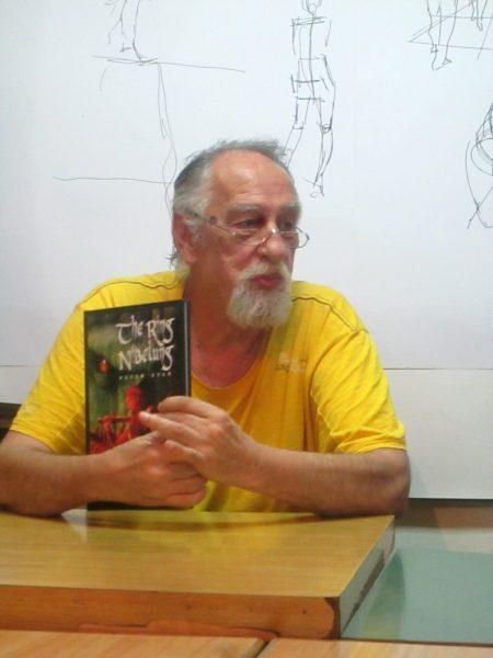 Un grafician de excepţie: bulgarul Petar Stanimirov.