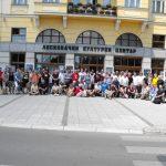 Participanţii la cea de-a XXI-a ediţie a Festivalului balcanic al tinerilor creatori de benzi desenate de la Leskovac