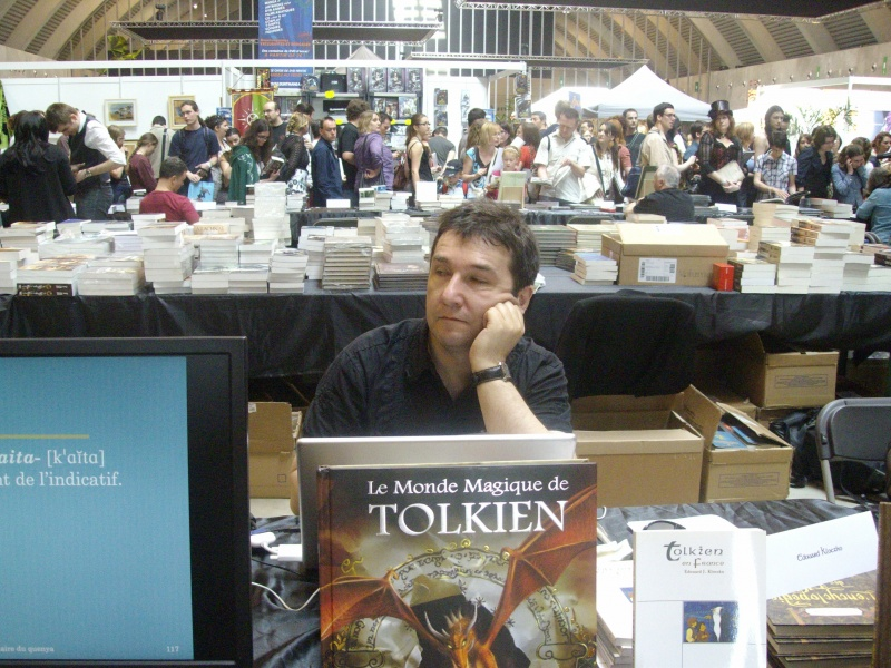 Édouard Kloczko la Festivalul Trolls et Légendes, în aprilie 2011