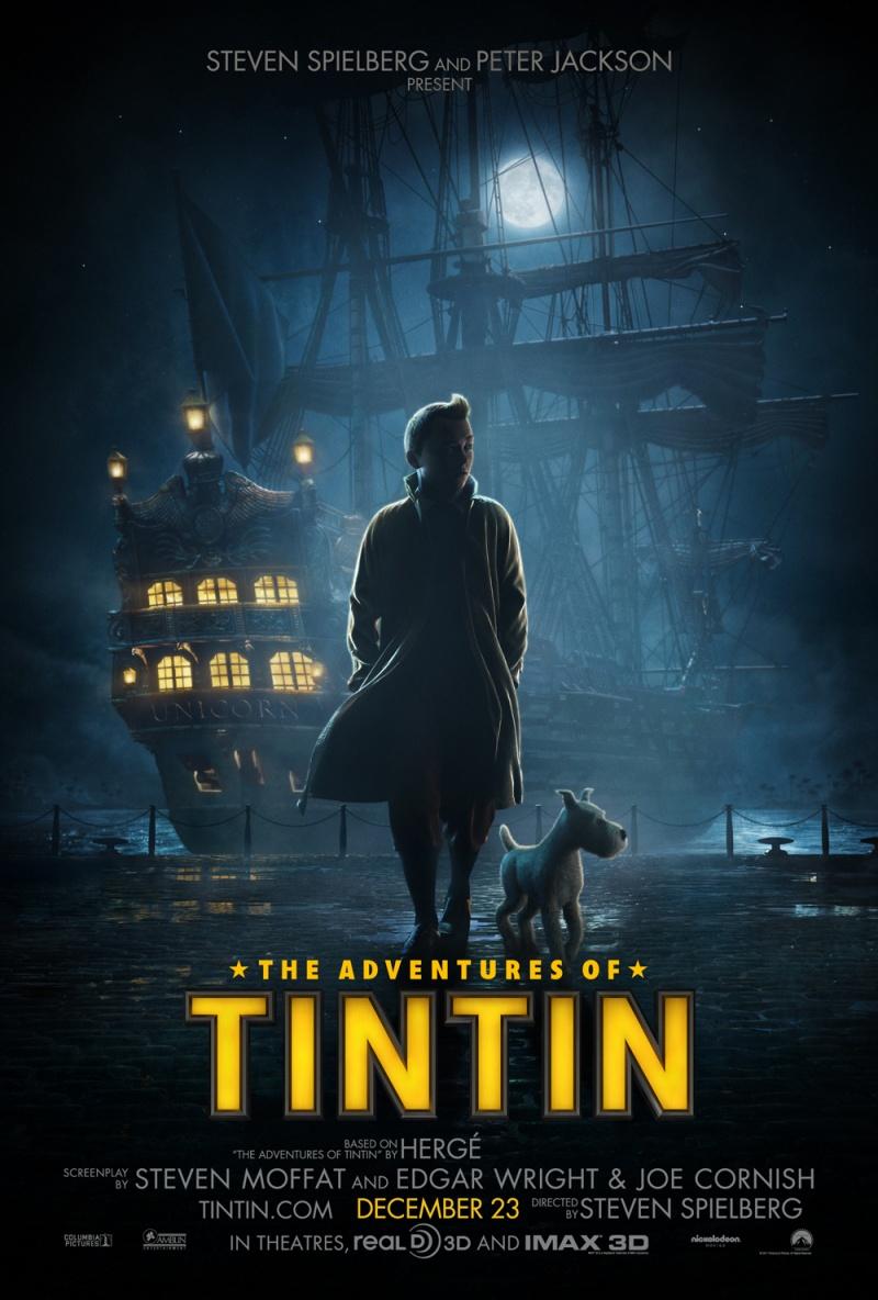 Tintin afişul