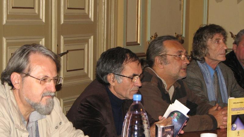 Victor Martin, George Popescu, Mircea Liviu Goga, Mihai Măceş
