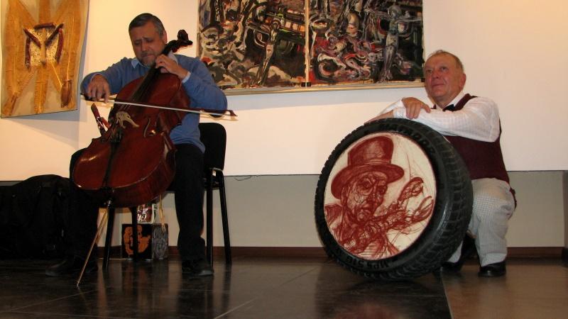 Duo muzică şi artă plastică