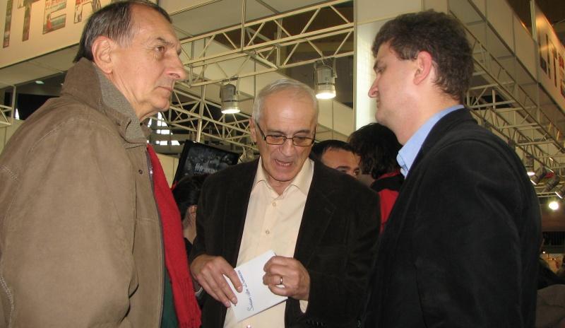 Trei grei: Mircea Martin, Eugen Negrici la 70 de ani şi Daniel Cristea-Enache.