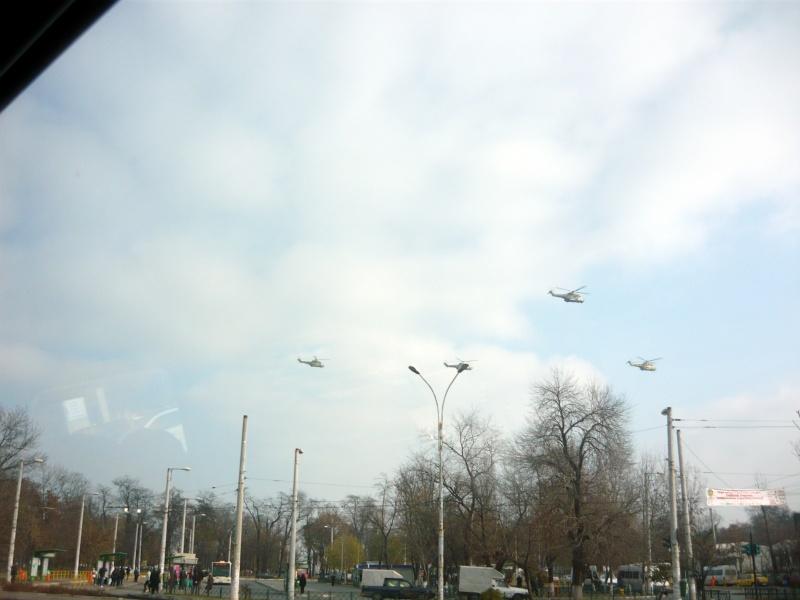 Repetiţii de elicoptere pentru Ziua României (doar suntem NATO, nu?)