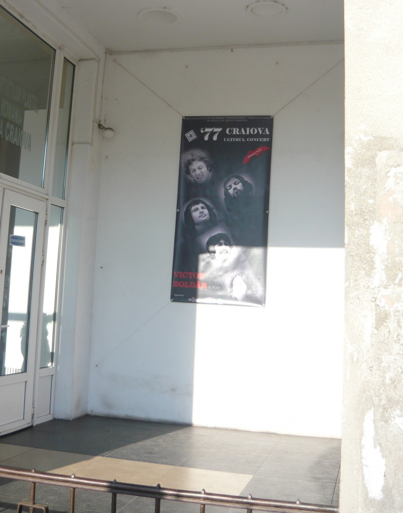 """""""77 Craiova – Ultimul Concert"""" de Victor Boldâr"""