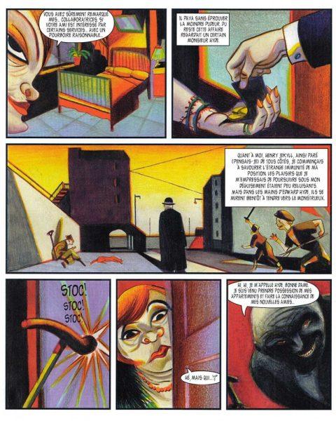 """Docteur Jekyll & Mister Hyde"" de Lorenzo Mattotti şi Kramsky, Casterman, 2002"