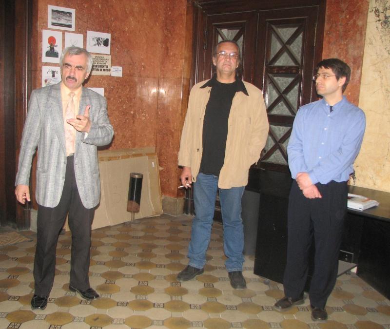 George Ceauşu, încă vorbind, Mircea Liviu Goga şi Florin Leodor Dănilă.