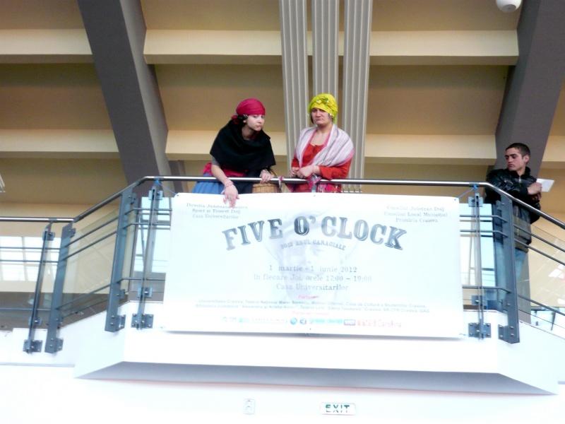 """Să nu uităm: ne află la Five O'Clock"""""""