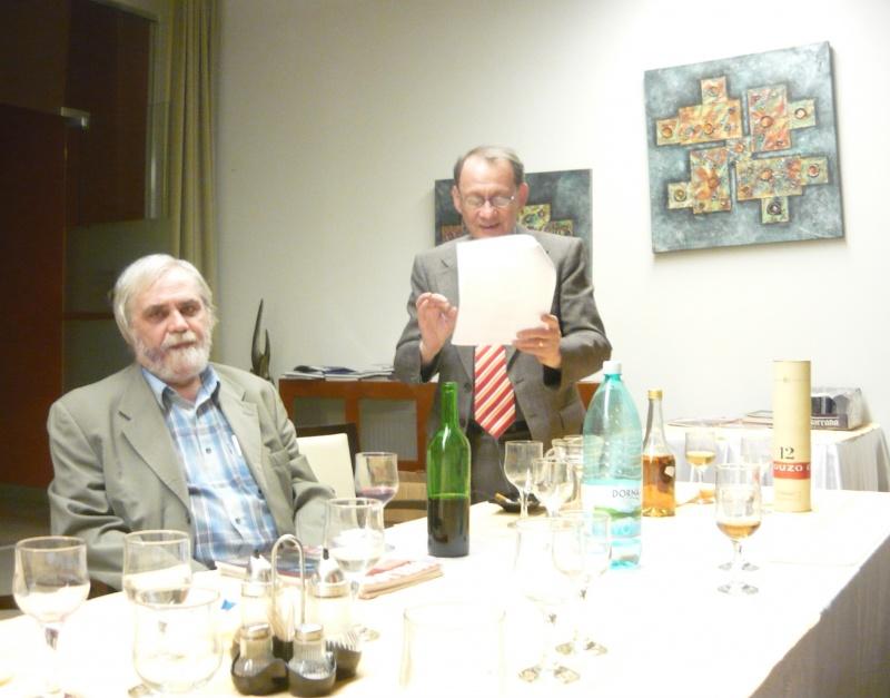 Maestrul ceremoniilor de bună-dispoziţie: Marcel Luca.