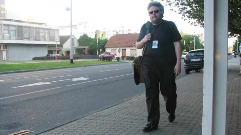 Darko Macan pe străzile Zagrebului