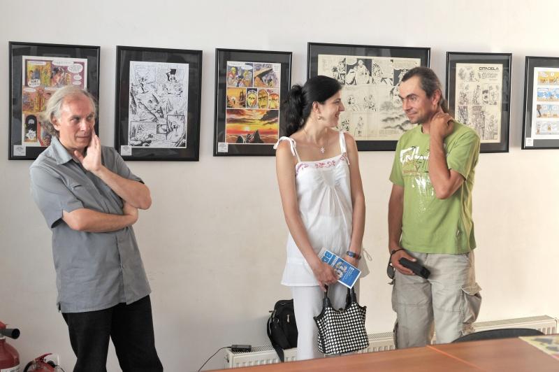 ...şi chiar Pîrligras (stânga), lângă Cristina Marcu şi soţul ei